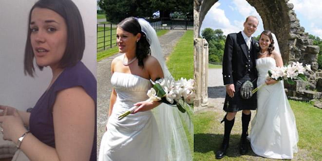 Wedding personal training success story